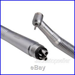 10 NSK Style Dental High Fast Speed Push Button Handpiece 4 holes Hot Sale