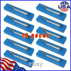 10 NSK Style Dental High Speed Handpiece Push Button 4Hole SEASKY Fit NSK OR-US
