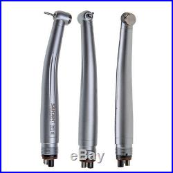 10 SANDENT NSK Style Dental High & Fast Speed Handpiece Push Button 2/4 Holes US