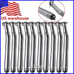 10 pieces NSK Pana Style Dental High Speed Handpiece Push Button 4/Holes SEASKY