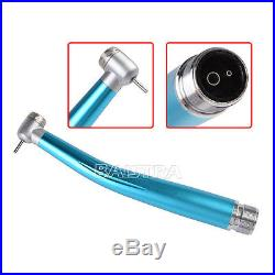 10 x Color Dental Handpiece NSK Style Push Button Standard Head High Speed 2Hole