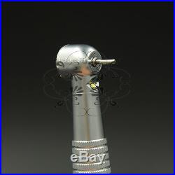 10pack LED Dental High Speed Self-power Handpiece Push button 3 Water 2Hole