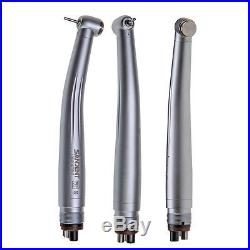 10pcs NSK Style New Dental High Speed Handpiece Push Button Type 4/2 Hole