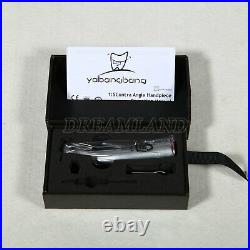 15 Dental Electric Fiber Optic LED Contra Angle Handpiece Red Ring Fit KaVo FDA