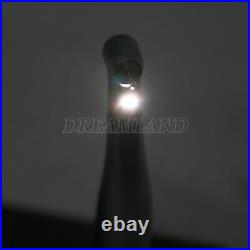 15 LED Fiber Optic Contra Angle High Speed Dental Handpiece Fit NSK Push