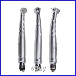1PC Dental High Speed Fiber Optic LED Handpiece Turbine with 6 Hole Coupler SK-C6