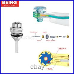 1X BEING Dental High Speed Handpiece Standard E generator LED Self Power Turbine