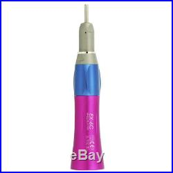 2 hole Dental Color LED Self-Power High Speed + Low Speed Handpeice Set Fit NSK