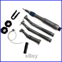 3 Sets NSK Style Dental 2 Hole Push button High & Low speed handpiece kit EX203C