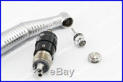 4PCS LED Dental High Speed E-Generator Self Power Handpiece with 4-Hole Coupling