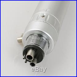 4hole dental 2 high LED +1 low speed handpiece kit push button E-type fit F NSK