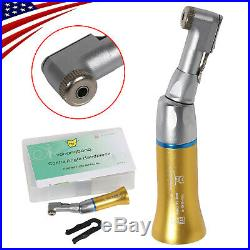 5NSK Style Dental Low Speed Contra Angle Handpiece Latch Type Yabangbang Golden