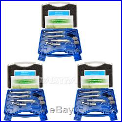 5X Dental NSK Pana Max Style Handpiece kit High /Low Speed Air Motor Handpiece E