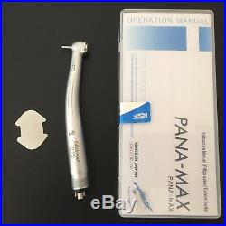 5 pcs NEW PANA-MAX Dental High Speed Push Button Style Handpieces 4 HOLE