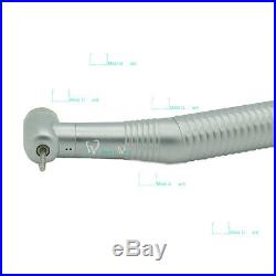 6pcs Dental Lab Pro High-speed Handpiece Push Button Head NSK Style 4 Hole Style