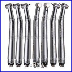 7X NSK Style Dental High Speed turbine Handpiece Push Button 4-Holes CE standard