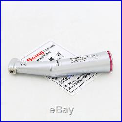BEING Dental 15 Inner Water High Speed Contra Angle Handpiece 1.6mm Red Ring