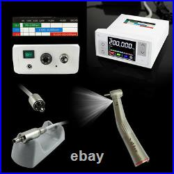 CICADA LED Dental Electric Motor + High Speed 15 Handpiece Contra Angle