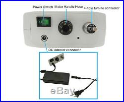 CICADA NL400 Brushless Dental Electric Motor For 15 11 Handpiece Contra Angle
