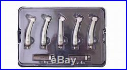 COXO Dental High Speed LED handpiece with generator Kit 4 hole H25-5KIT VEP