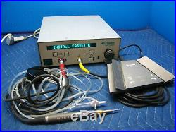 Conmed Linvatec E9000 with E9010 High Speed Drill Handpiece Foot Control Warranty