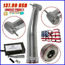 Dental 15 Electric Contra Angle Increasing Speed Handpiece Red Ring F/NSK FDA