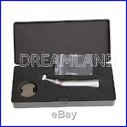 Dental 15 Increasing High Speed Contra Angle Handpiece Inner Spray Push Turbine
