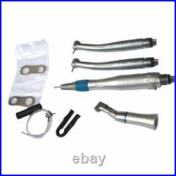 Dental Handpiece Kit High & Low Speed Push Button Hand Tool Set 4 Hole US STOCK