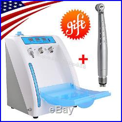 Dental Handpiece Maintenance Cleaner Oiling Lubricating Device ++LED High Speed