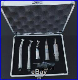 Dental High & Low Speed Handpiece Kit Wrench Type 4 Holes with Box NSK Style