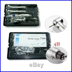 Dental LED Pana Max Push Button High/Low Speed Handpiece EX-203C Set E-type 4H
