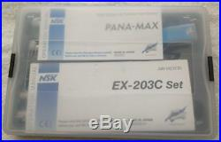 Dental Low High Speed Oral Kit (EX203C+2 PANA MAX) Wrench Type Handpieces 2H