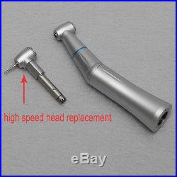 Dental Low Speed Contra Angle Inner Water 2.35mm+ High Speed Head Replace 1.6 mm