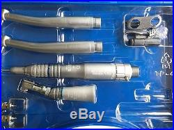 Dental PANA Max EX-203 Kit 2 High Speed 1 Low Speed Wrench Handpiece 2H
