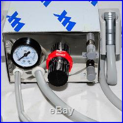 Dental Portable Air Turbine Unit For Compressor 4 Hole &High Low Speed Handpiece