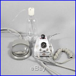 Dental Portable Air Turbine Unit Work with Compressor 4H + High Speed Handpiece