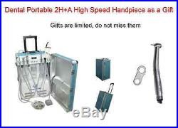 Dental Portable Turbine Delivery Unit Air Compressor 2H +A High Speed Handpiece