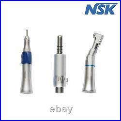 Dental Push Button Handpiece Kit 2 Hole 2 High 1 Low Speed Hand Tool Set USSTOCK