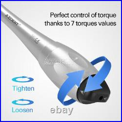 Dental Universal Implant Torque Wrench 12X Drivers / 201 Contra Angle Handpiece