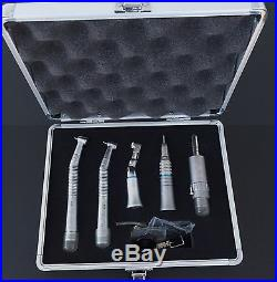 Dental Wrench Type Low High Speed Handpiece Kit NSK Style 2 Holes + Aluminum Box