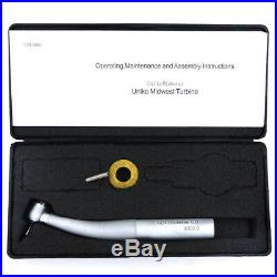 Dental high speed handpiece Kavo 8000b style Gentle Silence & coupler with LED