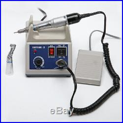 Dentist Marathon Machine Electric Micro Motor with Contra Angle Nosecone Handpiece