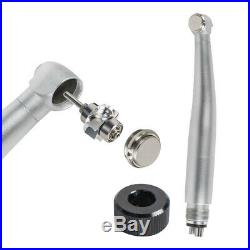 E-generator LED Dental High Speed Handpiece 4Hole with Ring Light5 LED Lights