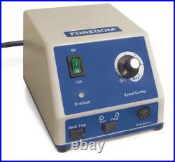 Foredom 1070 Micromotor High Speed Rotary Handpiece Kit K. 1070 220-240 Volt