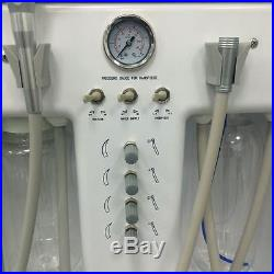 Greeloy New Portable Dental Unit Air Compressor + 1 High Speed Handpiece 4H