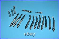 Kavo and Star Dental Dentistry Endodontic Handpieces 13 Units High Speed 6 Pin