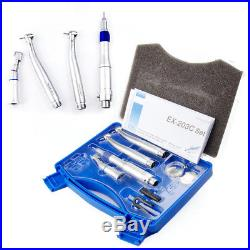 LED Pana Max Dental Wrench Type Low High Speed Handpiece Kit 2 Hole