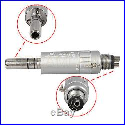 Lowest Price! NSK Style Dental 4 Hole Low &High Speed Handpiece kit Push Button