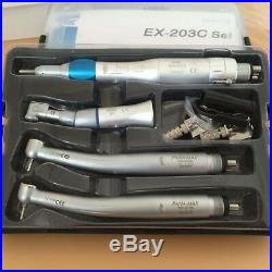 NEW Dental high speed handpiece and low contra angle kit 4 hole Good quality US