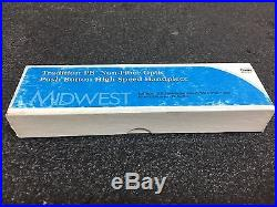 NEW Midwest Tradition PB Non-Fiber Optic High Speed Dental Hand-Piece REF 790044